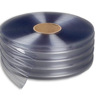 Měkčené PVC 200/2 mm žebrované