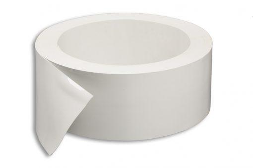 Měkčené PVC 200/2 mm bílé