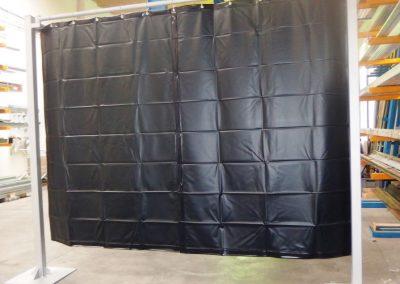 plachta svařovací - černozelená