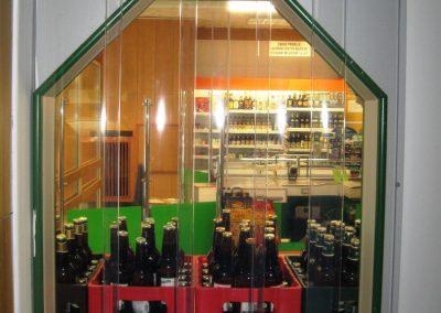 clona - výdej láhví