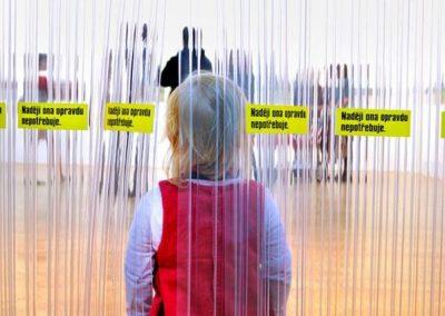 PVC pásy - výstava