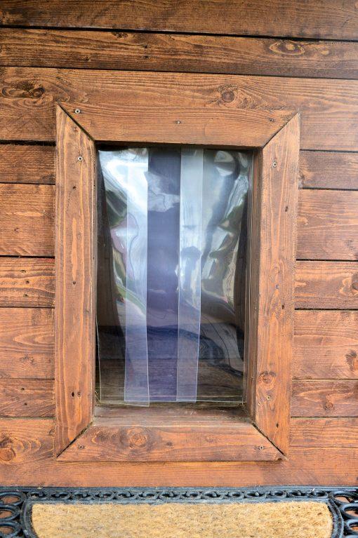Plastová dvířka k boudě, PVC 100x2