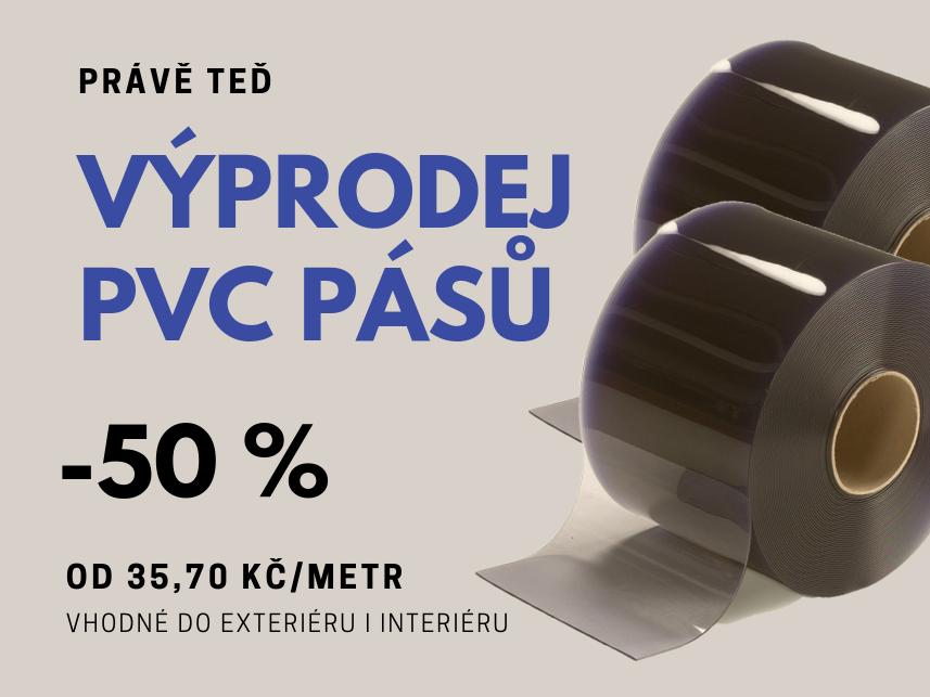 Výprodej PVC pásů